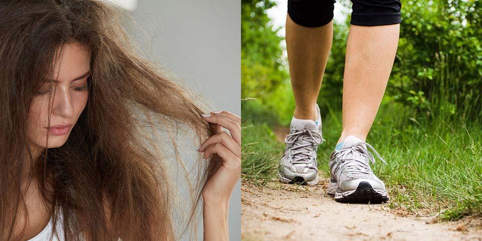 運動習慣で毛髪のケアをしましょう